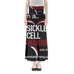 Warrior  Full Length Maxi Skirt