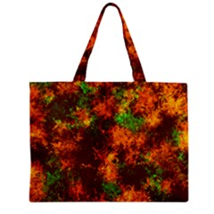 Squiggly Abstract F Zipper Mini Tote Bag