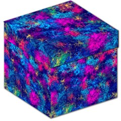 Squiggly Abstract E Storage Stool 12