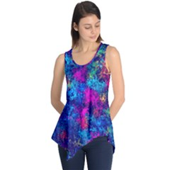 Squiggly Abstract E Sleeveless Tunic