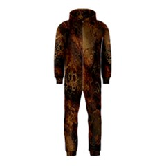 Wonderful Marbled Structure A Hooded Jumpsuit (kids)