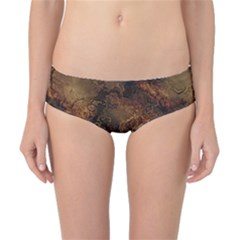Wonderful Marbled Structure A Classic Bikini Bottoms