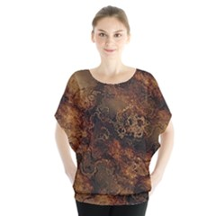 Wonderful Marbled Structure A Blouse