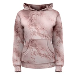 Wonderful Marbled Structure E Women s Pullover Hoodie