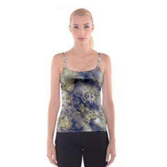 Wonderful Marbled Structure D Spaghetti Strap Top