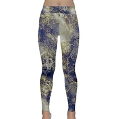 Wonderful Marbled Structure D Classic Yoga Leggings