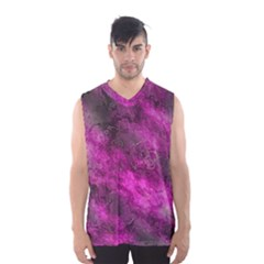 Wonderful Marbled Structure C Men s Basketball Tank Top