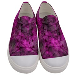 Wonderful Marbled Structure C Men s Low Top Canvas Sneakers