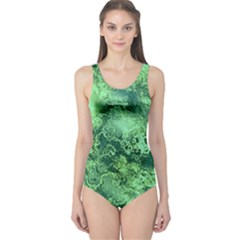 Wonderful Marbled Structure I One Piece Swimsuit