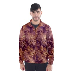Wonderful Marbled Structure I Wind Breaker (men)