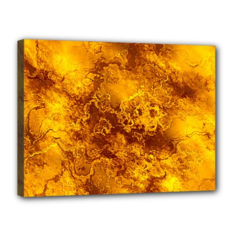 Wonderful Marbled Structure H Canvas 16  X 12