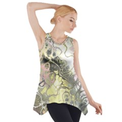 Awesome Fractal 35h Side Drop Tank Tunic