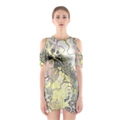 Awesome Fractal 35h Shoulder Cutout One Piece