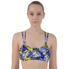Awesome Fractal 35a Line Them Up Sports Bra