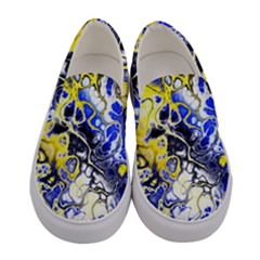 Awesome Fractal 35a Women s Canvas Slip Ons