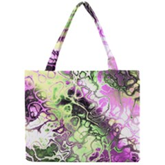 Awesome Fractal 35d Mini Tote Bag