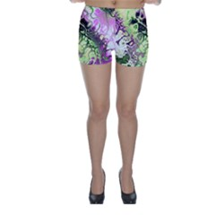 Awesome Fractal 35d Skinny Shorts