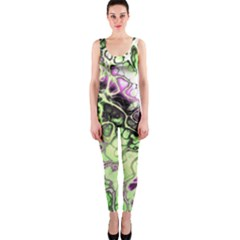 Awesome Fractal 35d Onepiece Catsuit
