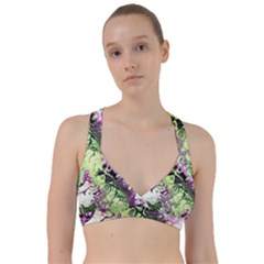 Awesome Fractal 35d Sweetheart Sports Bra