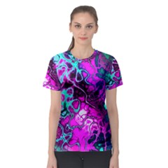 Awesome Fractal 35b Women s Sport Mesh Tee