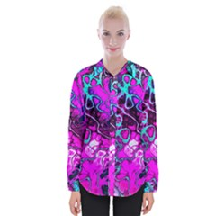 Awesome Fractal 35b Womens Long Sleeve Shirt