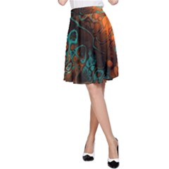 Awesome Fractal 35f A Line Skirt