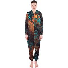 Awesome Fractal 35f Hooded Jumpsuit (ladies)