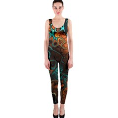 Awesome Fractal 35f Onepiece Catsuit