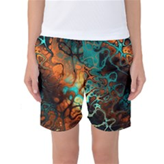 Awesome Fractal 35f Women s Basketball Shorts