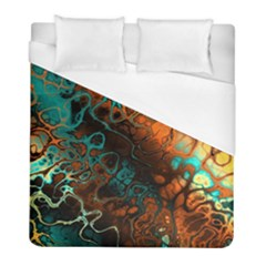 Awesome Fractal 35f Duvet Cover (full/ Double Size)