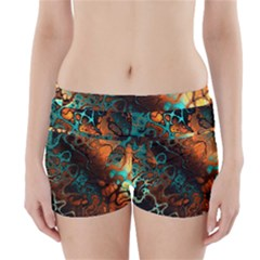 Awesome Fractal 35f Boyleg Bikini Wrap Bottoms