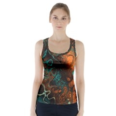 Awesome Fractal 35f Racer Back Sports Top