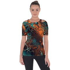 Awesome Fractal 35f Short Sleeve Top