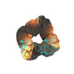 Awesome Fractal 35f Velvet Scrunchie