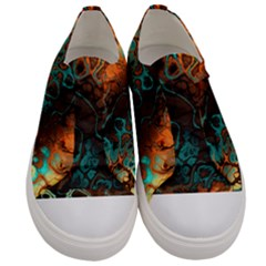 Awesome Fractal 35f Women s Low Top Canvas Sneakers