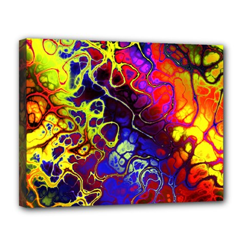 Awesome Fractal 35c Canvas 14  X 11