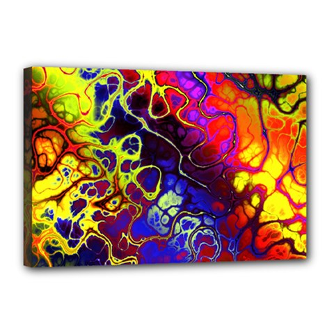 Awesome Fractal 35c Canvas 18  X 12