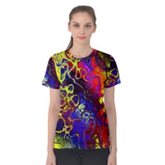 Awesome Fractal 35c Women s Cotton Tee
