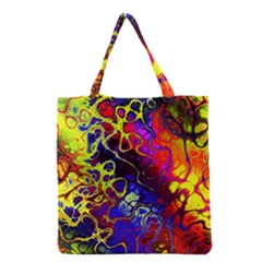 Awesome Fractal 35c Grocery Tote Bag