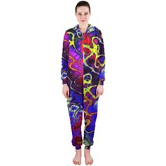 Awesome Fractal 35c Hooded Jumpsuit (ladies)