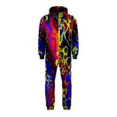 Awesome Fractal 35c Hooded Jumpsuit (kids)