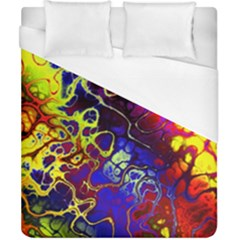Awesome Fractal 35c Duvet Cover (california King Size)