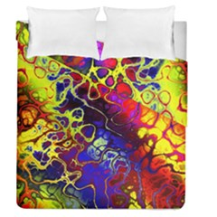 Awesome Fractal 35c Duvet Cover Double Side (queen Size)