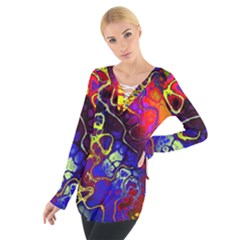 Awesome Fractal 35c Tie Up Tee