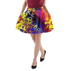 Awesome Fractal 35c A Line Pocket Skirt