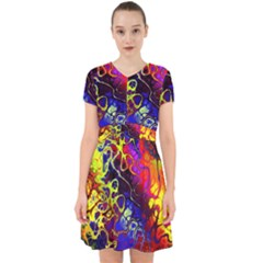 Awesome Fractal 35c Adorable In Chiffon Dress