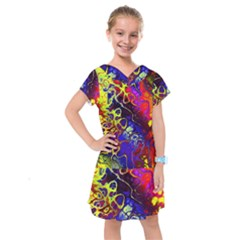 Awesome Fractal 35c Kids  Drop Waist Dress