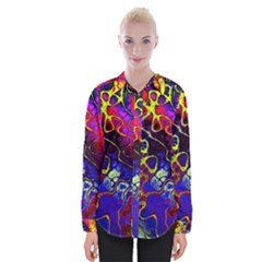 Awesome Fractal 35c Womens Long Sleeve Shirt