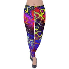 Awesome Fractal 35c Velvet Leggings