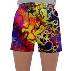 Awesome Fractal 35c Sleepwear Shorts